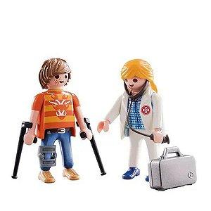 Playmobil - Médico e Paciente