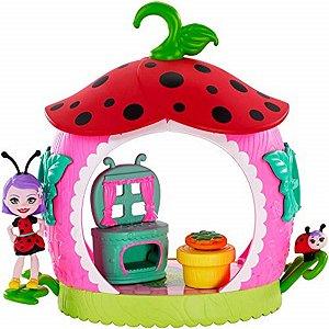 Playset E Mini Boneca Enchantimals - Cozinha Da Teeny - Mattel