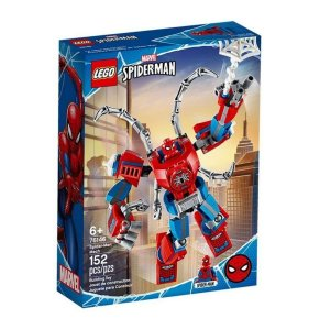 Lego Marvel Super Heroes Robô Homem-aranha - 152 Peças