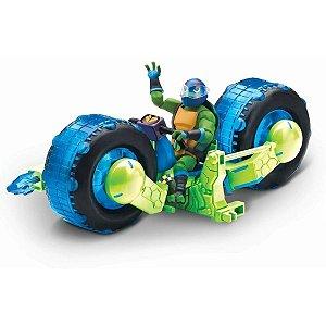 Tartarugas Ninja - Moto Shell Hog - Donatello - Sunny