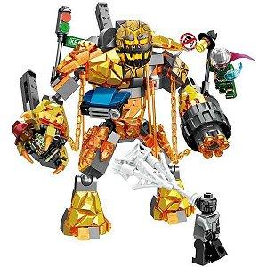 Lego Marvel - Spiderman - Combate Contra Mostro Fogo
