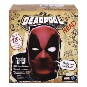 Cabeça Interativa Eletrônica - Deadpool - Hasbro