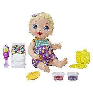 Boneca Baby Alive Lanchinhos Divertidos - Loira - Hasbro