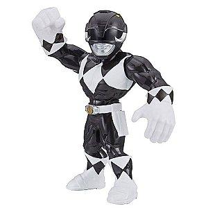 Boneco Preto Power Rangers Mega Mighties - Hasbro