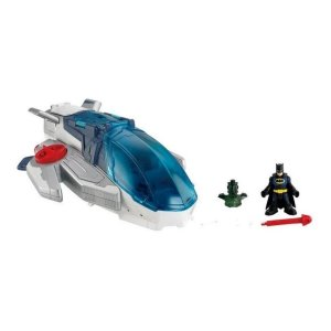 Nave Javelin Liga da Justiça com Batman - Imaginext - Fisher-Price