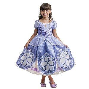 Fantasia Infantil Princesinha Sofia Disney Luxo - Multibrink