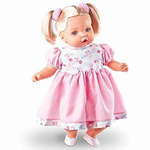 Boneca Angelina - 62 Frases - Milk Brinquedos