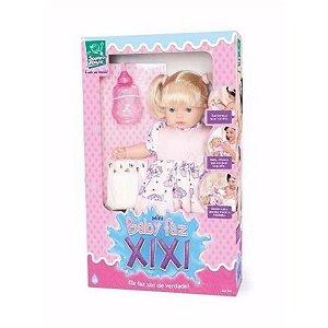 Boneca Mini Baby Faz Xixi - Super Toys