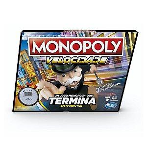Jogo Monopoly Velocidade - Hasbro