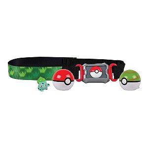 Pokémon - Cinto Porta Pokébolas - Bulbasaur - Sunny