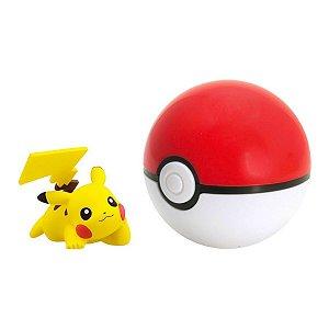 Pokemon Pikachu + Pokebola 7cm - Sunny