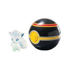 Pokemon Alolan Vulpix + Luxury Bola 7cm - Sunny