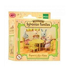 Sylvanian Families - Conjunto de Mesa e Cadeira  - Epoch