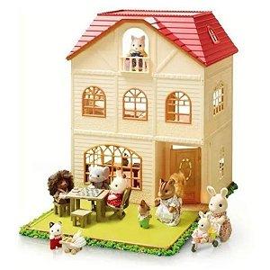 Sylvanian Families Casa Três Histórias Epoch