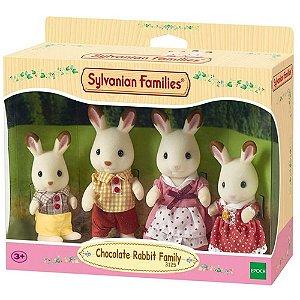 Bonecos Epoch Sylvanian Families Coelhos Chocolate 4150
