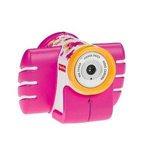 Fisher Price-câmera Filmadora Kid Touch Pink