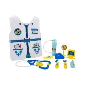 Kit Medico Mickey com Colete e Acessórios - Toyng