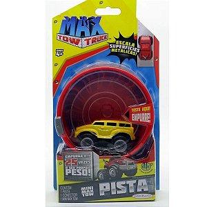 Carro E Pista Mini Max Tow Truck Amarelo - Dtc amarelo