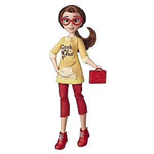Boneca  Princesas Disney  Bela - Comfy Squad - Hasbro