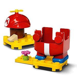 Super Mario 13 Peças Propeller Mario 71371