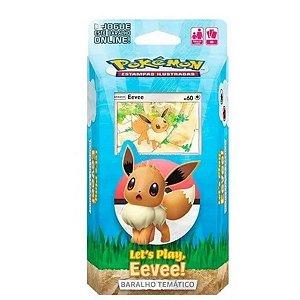 Deck Pokémon Coleção Especial Let's Play! Eevee - Copag