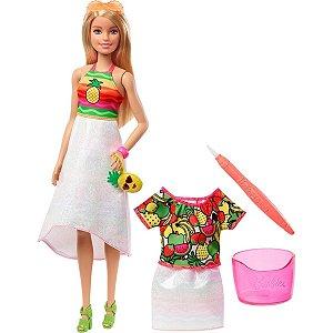 Barbie Crayola Surpresa De Frutas - Mattel
