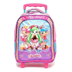 Mochila Com Rodinha Shoppies Sweet Friends - Xeryus