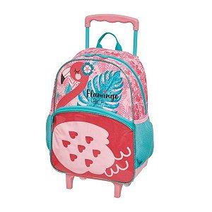 Mochila com rodas G Pack Me Flamingo - Pacific