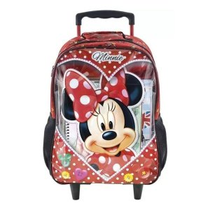Mochila com Roda Minnie Mouse Love - Xeryus