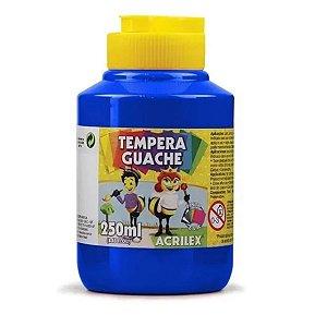 Tempera Guache 250 ml Azul Turquesa - Acrilex