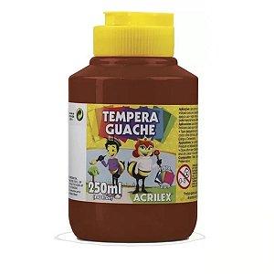 Tempera Guache 250 Ml Marrom- Acrilex