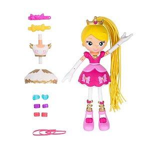 Boneca Betty Spaghetty com Acessórios Princesa Betty Para Betty Ballet - Candide