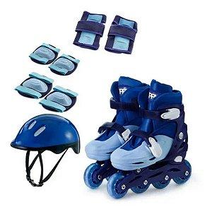 Patins In Line Com Kit Segurança - Zippy Toys 30/33