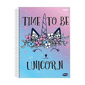 Caderno 10 Matérias Unicornio - São Domingos
