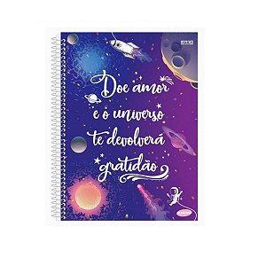 Caderno Pequeno Universo Capa Dura - São Domingos