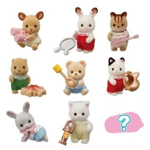 Mini Figura Sylvanian Families Baby Camping Series - Epoch