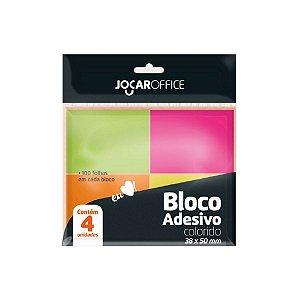 Bloco Adesivo 76x102 mm 100 Folhas Jocar Office - Leonora