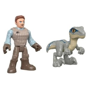 Imaginext - Jurassic World Owen E Blue - Mattel GBN18