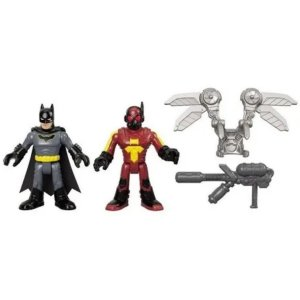 Luciérnaga & Batman Imaginext Dc Super Friends Imaginext