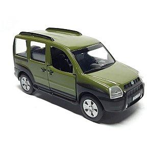 Miniatura Fiat Doblô Carros Do Brasil