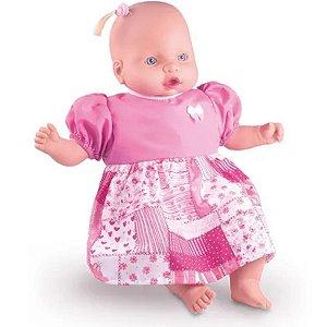 Boneca Que Fala  Judy Baby- Milk Brinquedos
