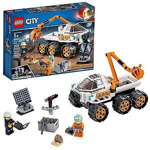 Teste De Condução De Carro Lunar 202 Pcs - Lego City