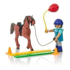 Playmobil - Soft Bags Cavalos - Cavalo Marrom - 9259 - Sunny