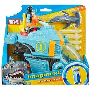 Veículo Rastreador De Tubarões - Imaginext