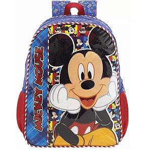 Mochila De Costas Infantil Mickey Mouse Selfie - Xeryus