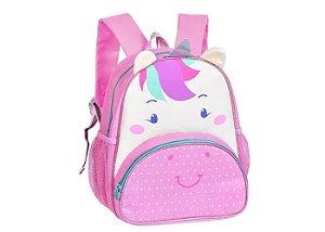 Mochila Infantil Unicórnio Rosa - Clio Pets - CP2205P