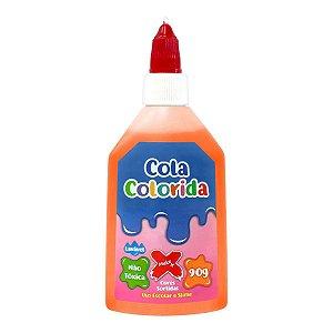 Cola Colorida Escolar/Slime Laraja - Make+