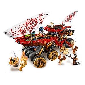 Carro de Assalto Ninja Ninjago 1178Pcs - Lego - 70677