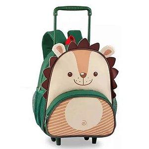 Mochila Infantil Escolar Rodinhas Porco Espinho - Clio