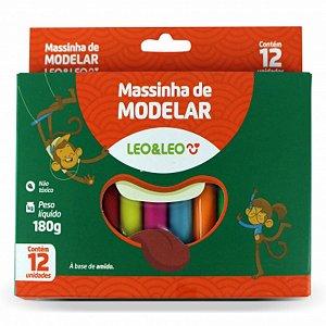 Massinha De Modelar 12Cores- Leo&Leo